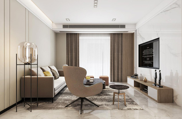 素而朴实温馨舒适的简约风,理想中的家!