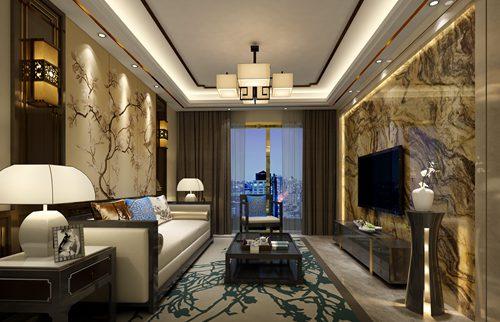 侨香公馆118平新中式风格
