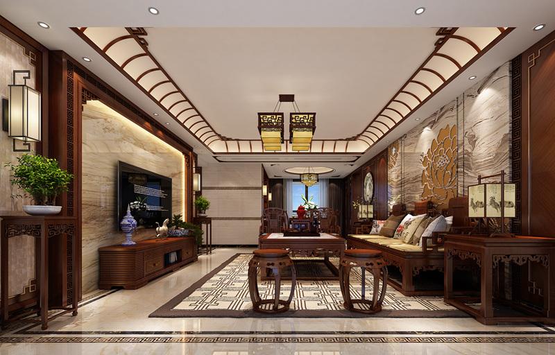 香山美墅173平新中式风格