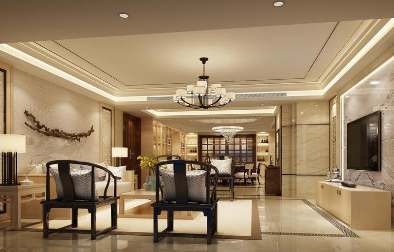 香山美墅新中式风格,感受传统中国风!